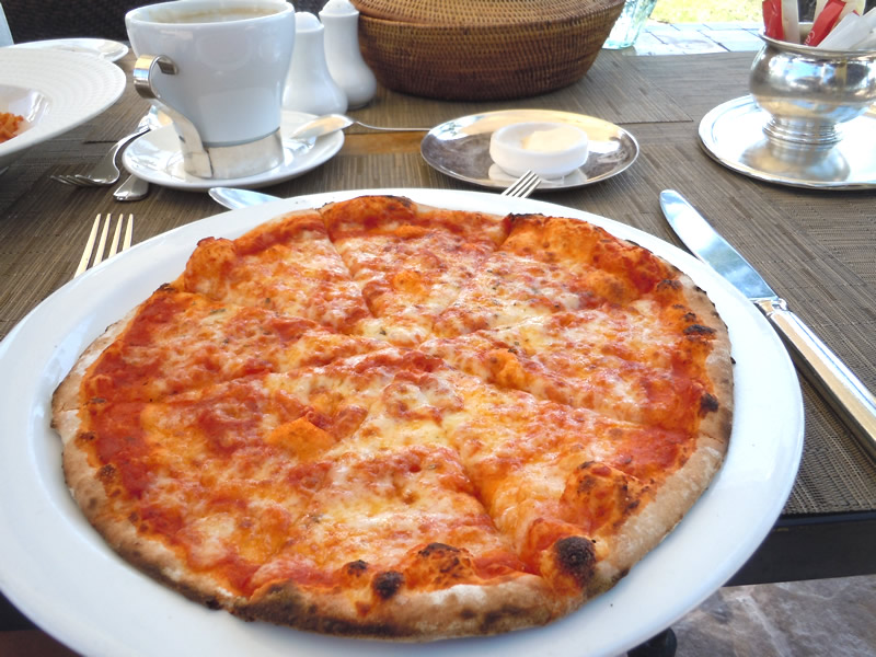 ランチピザ
